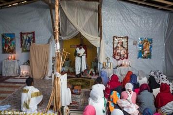 Calais Camp Chapel